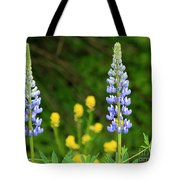Twin Towers Of Flower Tote Bag