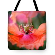 Twirling Floral Skirt Tote Bag