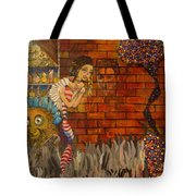 Twisted And Empty Tote Bag