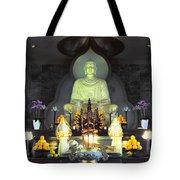 Twisted Buddha Tote Bag