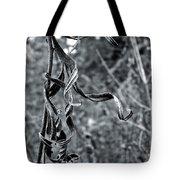 Twisted Leaves Tote Bag