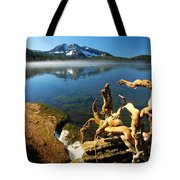 Twisted On The Shore Tote Bag