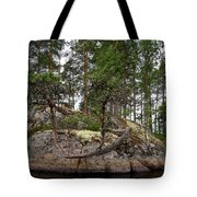 Twisted Pine Tote Bag