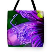 Twisted Shadows Tote Bag by Judi Bagwell