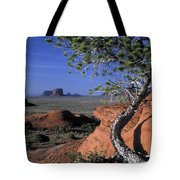 Twisted Tree Monument Valley Tote Bag