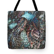 Twistered Tote Bag