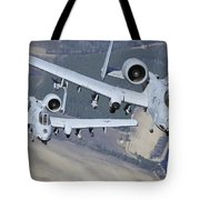 Two A-10c Thunderbolt II Aircraft Fly Tote Bag