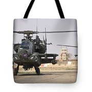 Two Ah-64 Apache Helicopters Return Tote Bag