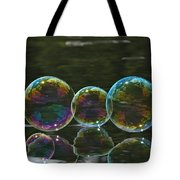 Two And A Half Bubbles Tote Bag