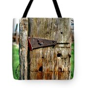 Two Bent Nails Tote Bag