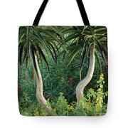 Two Bent Trees Tote Bag
