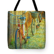 Two Bicyles Tote Bag