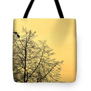 Two Birds In A Tree Tote Bag