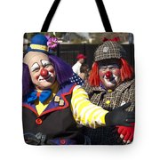 Two Clowns Tote Bag