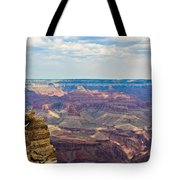 Two Crows Watch Over The Canyon Tote Bag