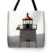 Two Harbors Lighthouse Tote Bag