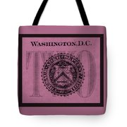 Two In Light Pink Tote Bag