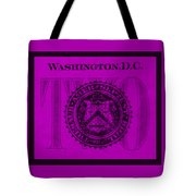 Two In Purple Tote Bag