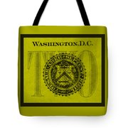 Two In Yellow Tote Bag