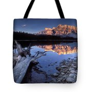 Two Jack Lake Banff Canada Tote Bag