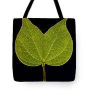 Two Lobed Leaf Tote Bag
