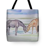 Two Mares Tote Bag