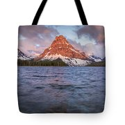 Two Medicine Lake Panorama Tote Bag