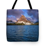 Two Medicine Morning Panorama Tote Bag