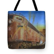 Two Minutes Late Tote Bag