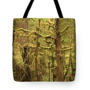 Waltzing In The Rainforest Tote Bag