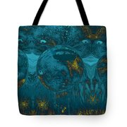 Two Of A Kind Tote Bag by Linda Sannuti