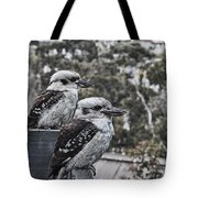 Two Of A Kind V2 Tote Bag