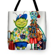 Two Tourists True Tote Bag
