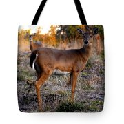 Two White Tails Tote Bag
