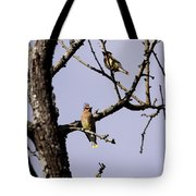 Two's Company Tote Bag
