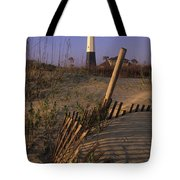 Tybee Island Lighthouse - Fs000812 Tote Bag
