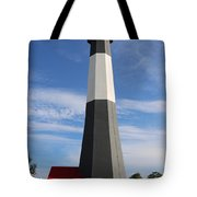 Tybee Island Lighthouse On Beautiful Day Tote Bag