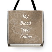Type Scrapbook Tote Bag