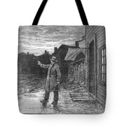 Typhoid Fever, 1885 Tote Bag