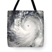 Typhoon Man-yi Tote Bag