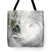 Typhoon Prapiroon Tote Bag