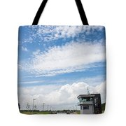 Typical Dutch Lock And Control Room Tote Bag