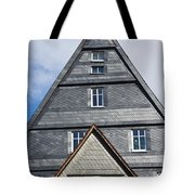 Typical Houses In The Center Of The Tote Bag