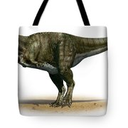 Tyrannosaurus Rex, A Prehistoric Era Tote Bag