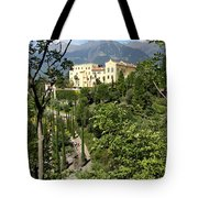 Tyrolean Alps And Palace Tote Bag