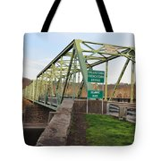 Uhlerstown Frenchtown Bridge Tote Bag