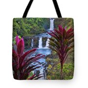 Umauma Falls Big Island Hawaii Tote Bag