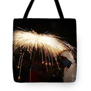 Umbrella Of Sparks Tote Bag