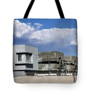 Under Construction Palm Springs Tote Bag