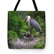 Under Mother's Shadow Tote Bag